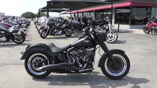 10. 018246 - 2016 Harley Davidson Softail Fatboy S FLSTFBS - Used motorcycles for sale