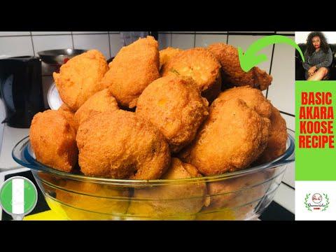 ✅ NIGERIAN AKARA RECIPE | EASY STEP BY STEP GUIDE FOR BEGINNERS