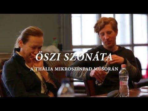 Őszi szonáta - werkfilm