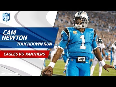 Video: Christian McCaffrey's Punt Return Sets Up Cam Newton's TD Run! | Eagles vs. Panthers | NFL Wk 6