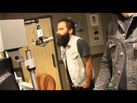 Capital Cities (Safe and Sound) in the Z100 Studio