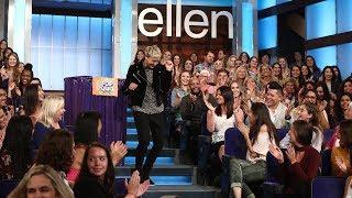 Video Ellen Gives Her Studio Audience a Pop Quiz MP3, 3GP, MP4, WEBM, AVI, FLV Maret 2018