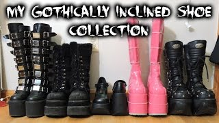 Video Gothically Inclined Shoe Collection Video MP3, 3GP, MP4, WEBM, AVI, FLV Juni 2018