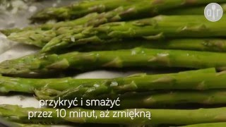 Szparagi sauté z czosnkiem