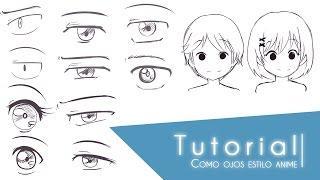 Tutorial Como dibujar distintos tipos de ojos estilo anime