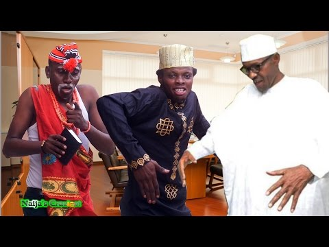 President Buhari Dances with Danladi & Ezemo to Celebrate Independence
