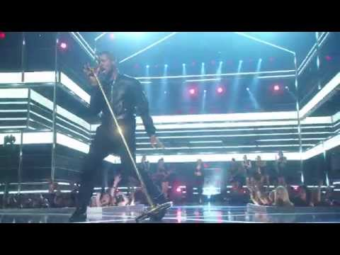 Usher - She Came To Give It To You (Live @ Fashion Rocks 2014)