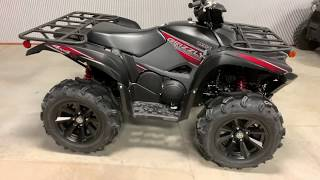 8. 2019 Yamaha Grizzly SE Tactical Black Walkaround