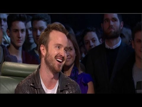 Top Gear – Aaron Paul Interview (March, 2014)