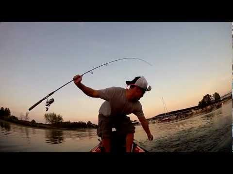 BigBassSplash Practice Goose Pond – GoPro Kayak Bass Fishing