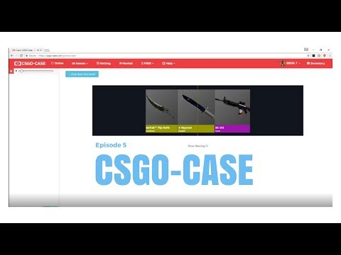 UNBOXING THREE KNIVES IN A ROW!!!!! CSGO-CASE.COM EP.5