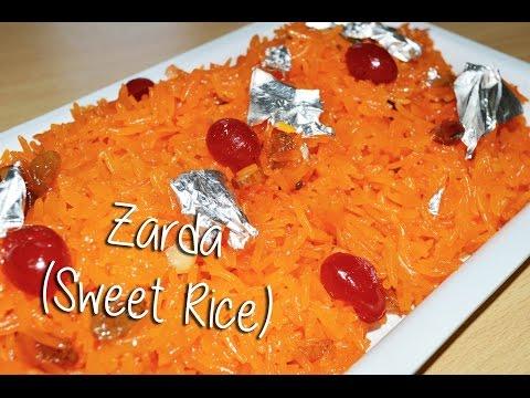 Zarda (Sweet Rice) Recipe By Chef Shaheen