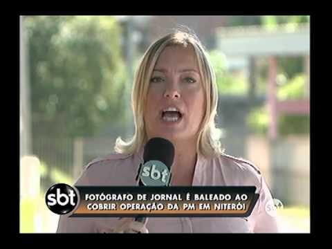 Fotógrafo é baleado em Niterói