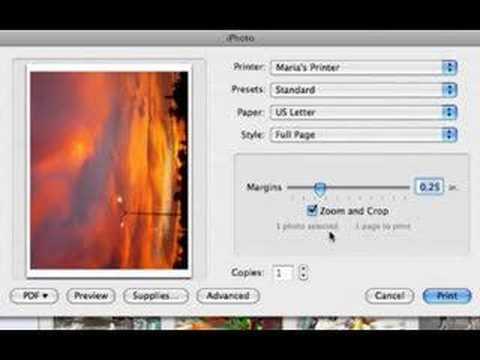 iPhoto Videos