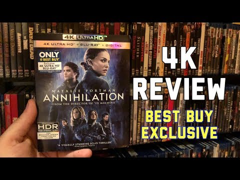 Annihilation 4K UltraHD Blu-ray Review | Best Buy Exclusive!!!