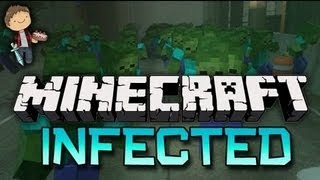 Minecraft: Infected ZOMBIES! Mini-Game w/Mitch&Jerome!