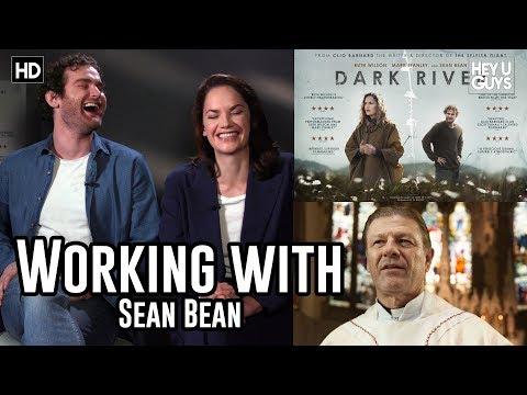 Ruth Wilson & Mark Stanley working with Sean Bean in Dark River