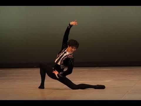 The winner of Arabesque 2012 Grand Prix Ki Min Kim / Победитель Арабеска 2012
