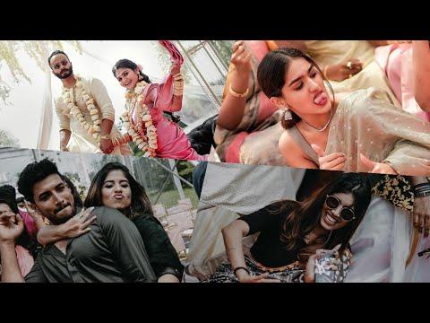 താരങ്ങൾ ആഘോഷമാക്കിയ സ്റ്റൈലൻ കല്യാണം   Celebrity Stylist Sooraj SK Wedding Celebration Video