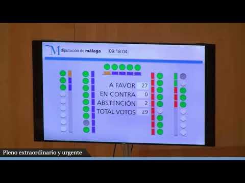 Pleno de organización de la nueva corporación provincial