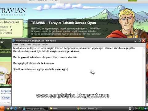 Travian Scripti Kurulumu