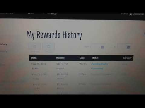 Offernation review how to get points fast. $1 minimum to cashout make money online FREE. paypal