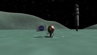 Landing on Minmus! Kerbal Space Program (Science Mode!) - Episode 6 by SkulShurtugalTCG