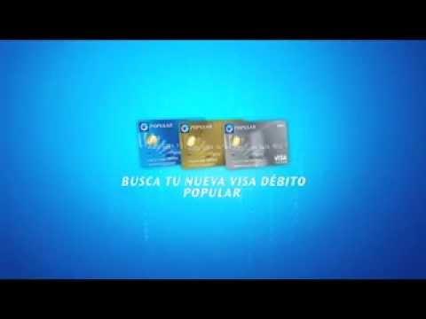 Visa Débito Popular con chip