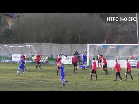Hertford Town FC 2-0 Edgware Town FC - SSML Premier Division - 28th January 2017 (видео)