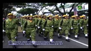 Kontinjen RELA Malaysia Di Hari Kebangsaan Ke 57