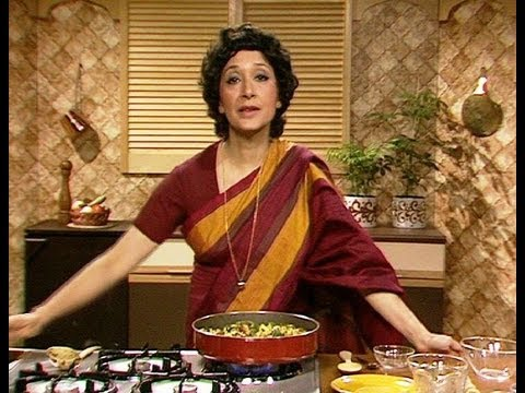 Jaffrey - Indian Cookery legend Madhur Jaffrey demonstrates how to make Indian Prawns with Courgettes. Click here to see the full programme: http://bit.ly/ZCENc0 Watch...