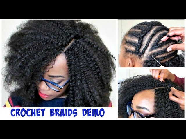 Book Cover Crochet Hair : Watch me do crochet braids invisible part method w marley