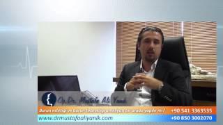 Op. Dr. Mustafa Ali Yanık burun tıkanıklığı neden olur?