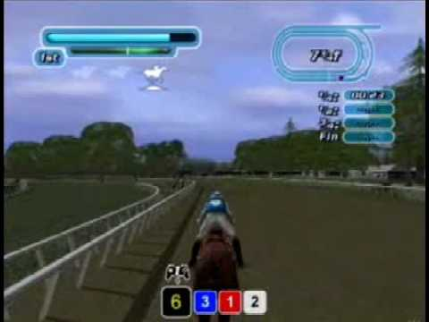 NTRA Breeders Cup World Thoroughbred PS2 gameplay (видео)