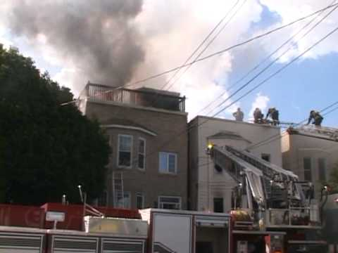 06.08.10 - 06.08.10 - Fifth Alarm - 1909 Palisade Avenue - Union City, NJ.