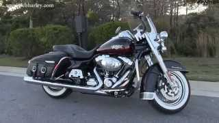 6. Used 2011 Harley Davidson FLHRC Road King Classic