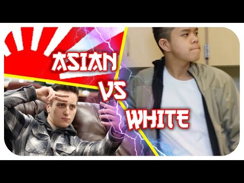 Asian vs White People: LIFESTYLE