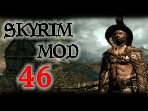 Skyrim Mod #46 - Silverfish Grotto, Lilium Follower, Gladiator Armor, Knock-knock