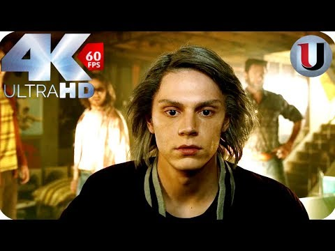 Quicksilver Meets Wolverine, Charles - X-Men Days of Future Past - MOVIE CLIP (4K HD)
