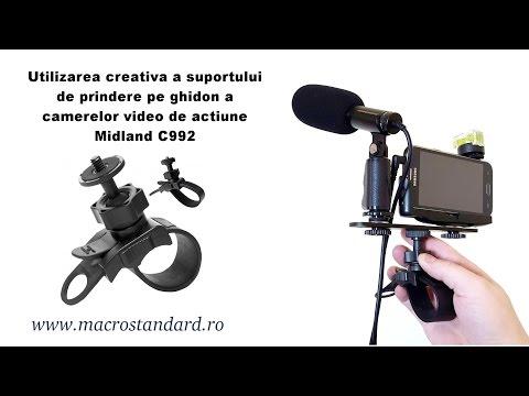 Utilizarea creativa a suportului de prindere pentru camere video de actiune
