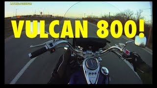 10. LJ's Vulcan 800 Test Ride & Review