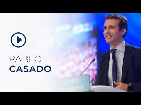 Discurso de candidatura de Pablo Casado en el 19 C...