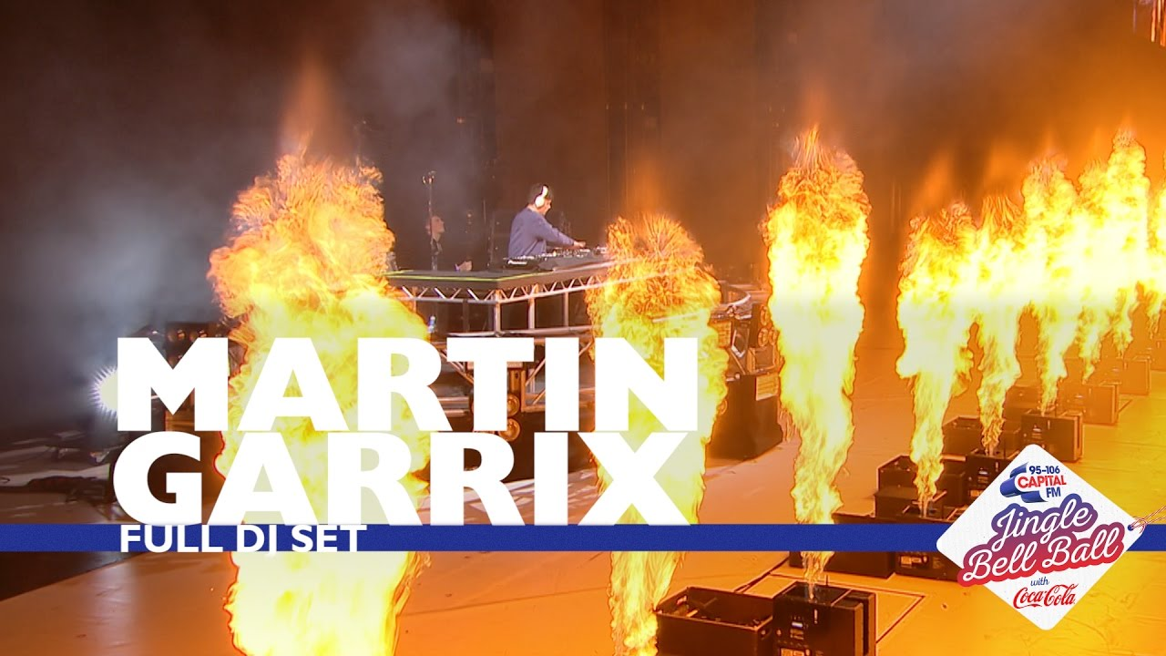 Martin Garrix - Live @ Capital's Jingle Bell Ball 2016
