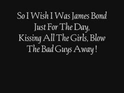 Scouting for girls - James Bond lyrics