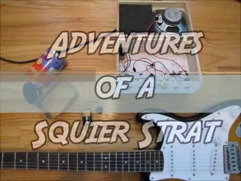 History of a Squier Bullet Strat paintjob and mods