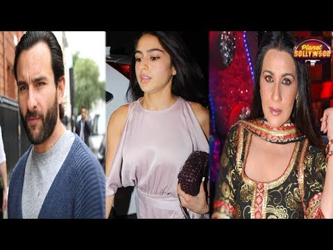 Amrita Singh Loses Her Cool On Saif Ali Khan Over
