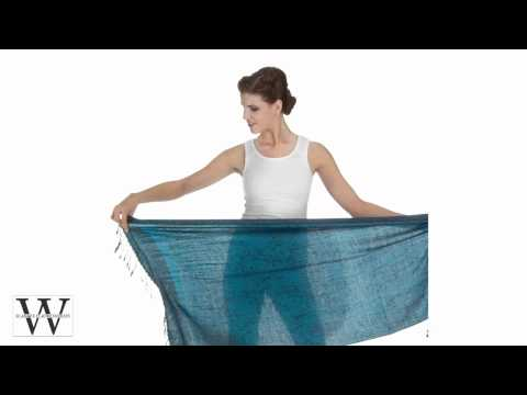 How To Tie Scarves Scarf Pashmina