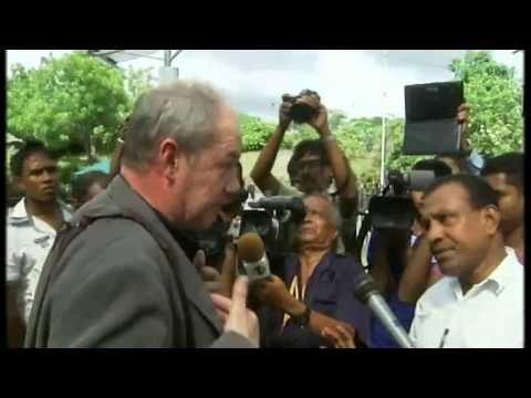 channel4 - As a Channel 4 News team arrives in Sri Lanka they are mobbed by protesters angry at our reporting of the army's actions during the final days of the country...