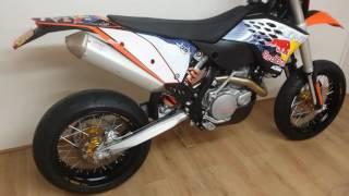 8. KTM 530 EXC champions Ed 800 miles SM + Trail  Wheels