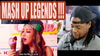 TWICE x BLACKPINK x RED VELVET – Likey /As If It's Your Last /Red Flavor MASHUP   reaction!!!